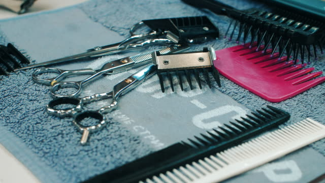 Professional hairdresser tools scissors comb nozzles for electric clipper