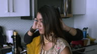 istock Professional make-up artist at work 1211253714