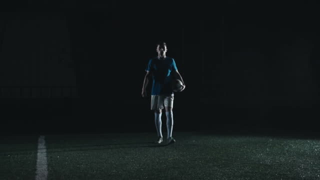 Professional Soccer Player video