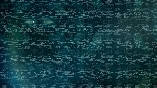 programming or hacking code strings on screen, encoded message, encryption - phishing filmów i materiałów b-roll