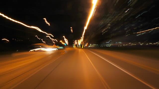 HD progressive - Time Lapse City Driving video