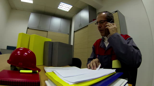 Project Manager With Cellphone video