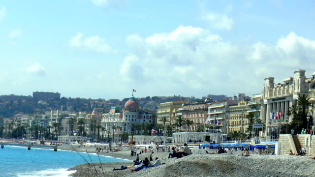 Promenade des Anglais - Nice, France video