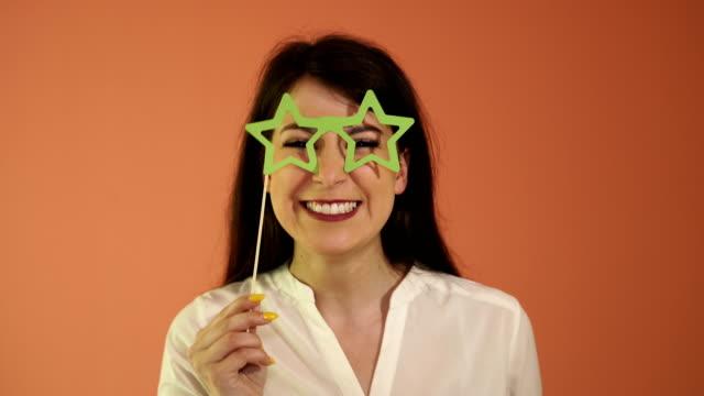 Prop for photo,eyeglasses star shape