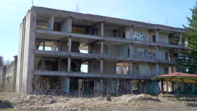 A property that is damaged by the war video