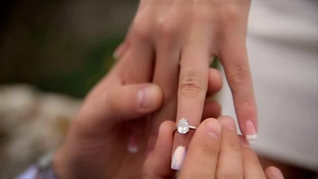 Proposal,human hands,close up