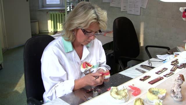 Prosthetics laboratory video