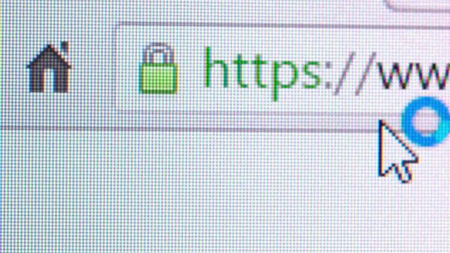 SSL protected website video