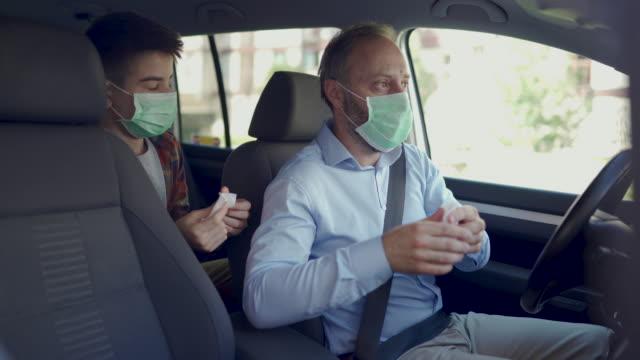 vídeos y material grabado en eventos de stock de protección contra virus - hand sanitizer