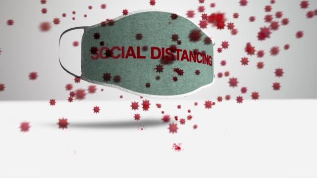 Schutzmaske Soziale Entsagung – Video