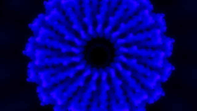 3D Protein Molecule video