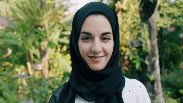 Proud to be middle east woman. Middle East, Family, Middle Eastern, Lifestyle, Slow motion, portrait, looking at camera, people, east asian culture stock videos & royalty-free footage