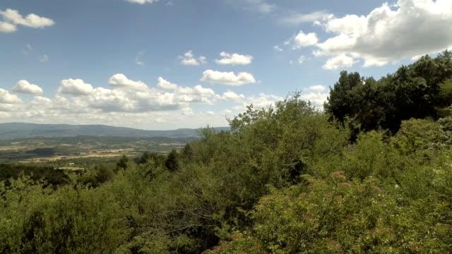 Provence landscape video