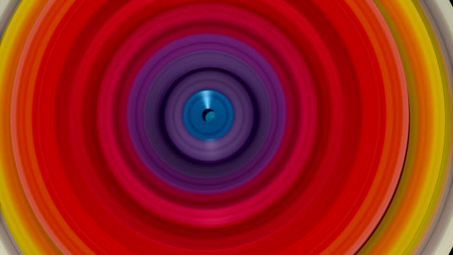 Psychedelic patterns, abstract animation
