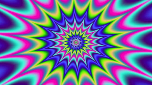 Psycho pattern seamless loop video