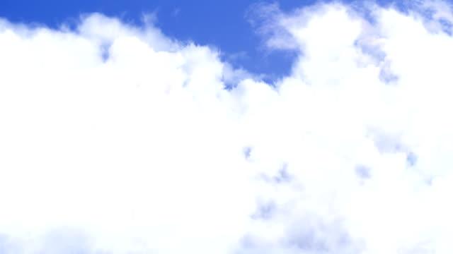 Puffy Clouds Flight Through video