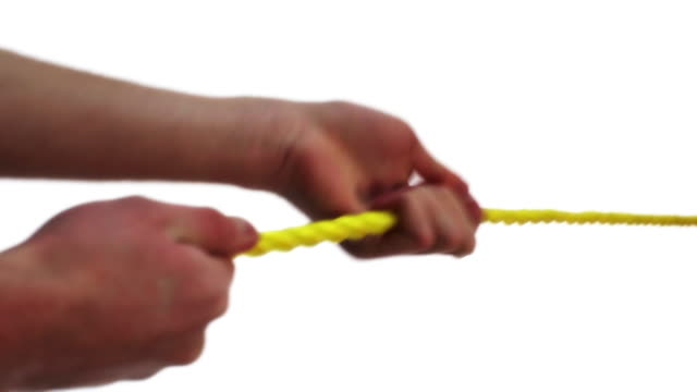Pulling a rope video