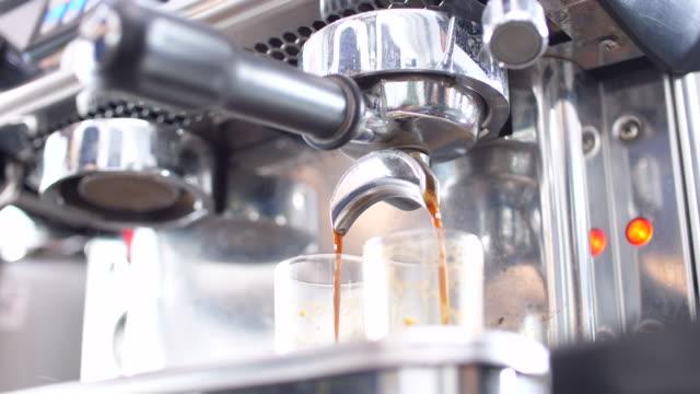 Pulling A Shot of Espresso, Espresso Machine