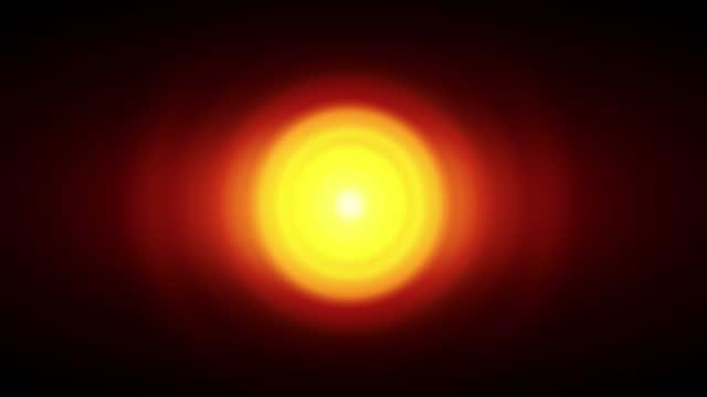 Pulsating light source video