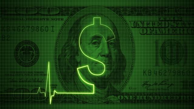 Pulse Trace auf der Dollarsymbol/Endlos wiederholbar – Video