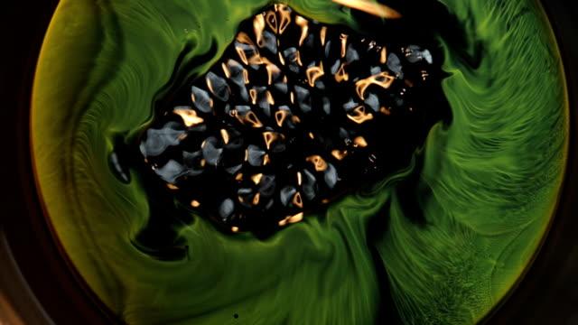 Pulsing Iris of a Green Eye video
