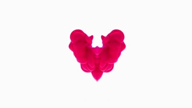 pulsing paint heart