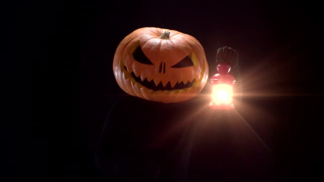Pumpkin Jack With Lantern video
