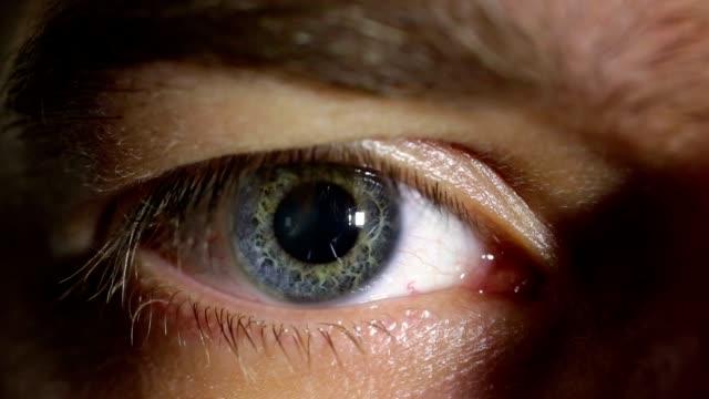 Pupil movement video