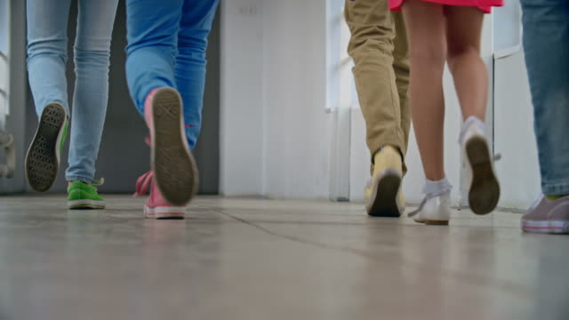 Pupils Walking Away video