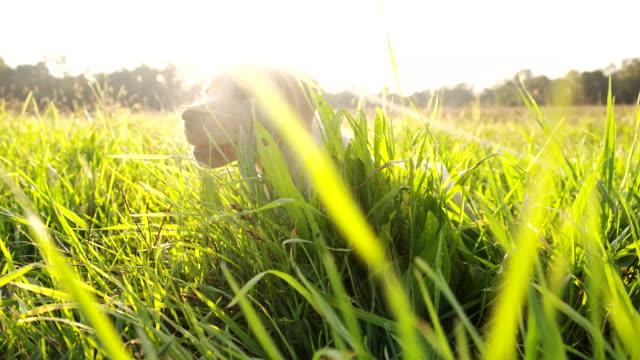 LA CU Puppy In The Grass video