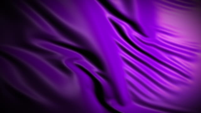 4K Purple fabric (Loopable) video
