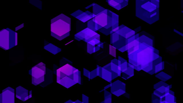 Purple Hexagons video
