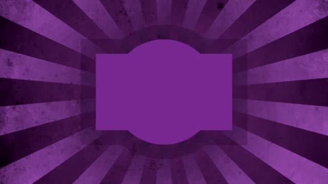 Purple Label Vintage Loop Background 4K video
