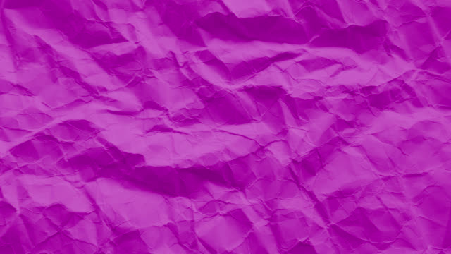 Purple paper texture wrinkled video