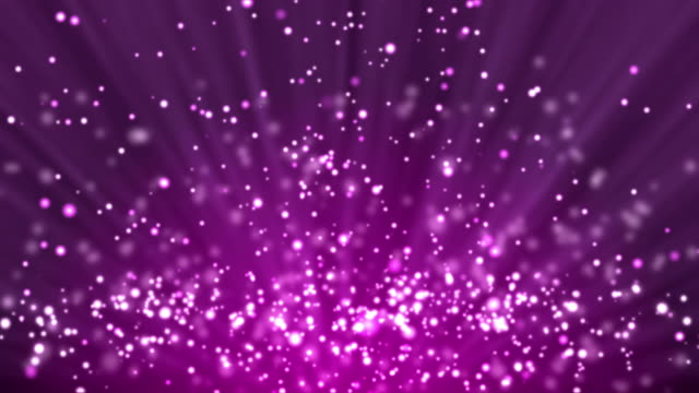 Purple particle background and light rays