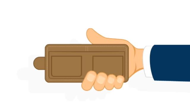 plån bok, hand och pengar - lön bildbanksvideor och videomaterial från bakom kulisserna