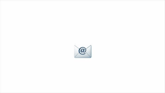 push e-mail/newsletter button - skicka datormeddelande bildbanksvideor och videomaterial från bakom kulisserna