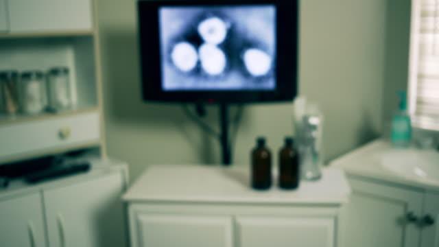 push in to lab tech with Wuhan Coronavirus virus
