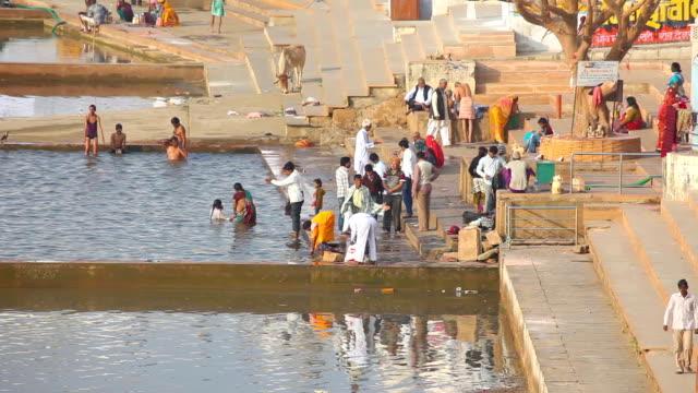 Pushkar lake video