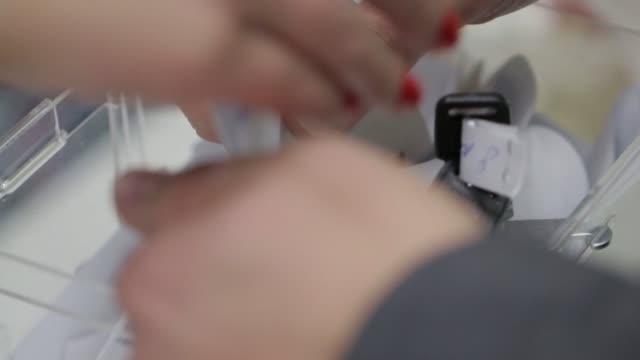 sätta enkäter i låda - e post bildbanksvideor och videomaterial från bakom kulisserna