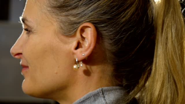 Putting on Pearl Earrings 3 video