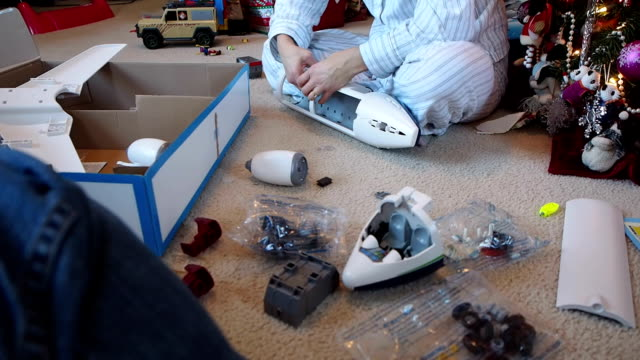 Putting Toys Together video