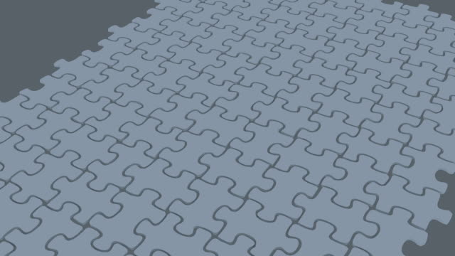 puzzle 3d animation video