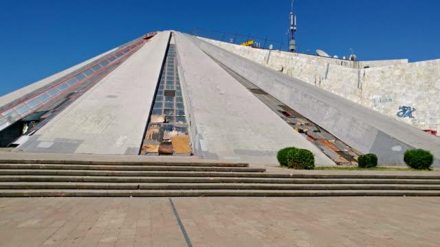 Pyramid built for former leader of Albania, Enver Hoxha video