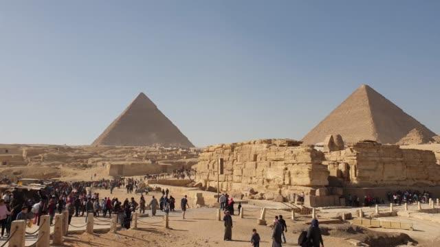 pyramid egypten - pyramidform bildbanksvideor och videomaterial från bakom kulisserna
