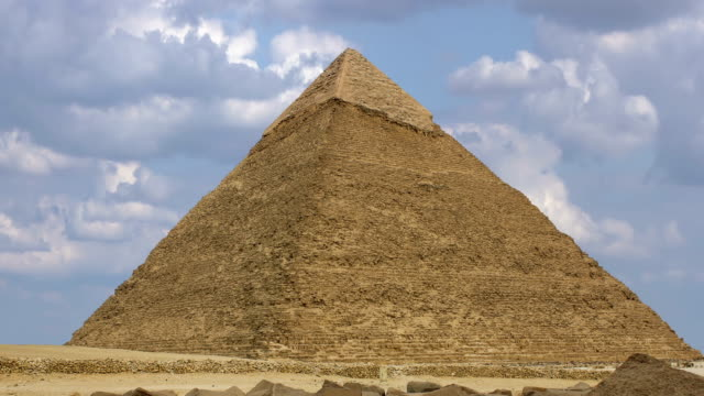 Pyramid of Khufu. Cairo. Egypt. video