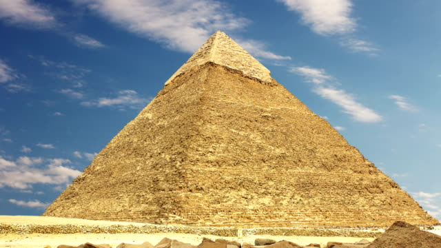 Pyramid of Khufu. Zoom. Cairo. Egypt. video