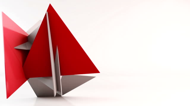 Pyramid transformation background video