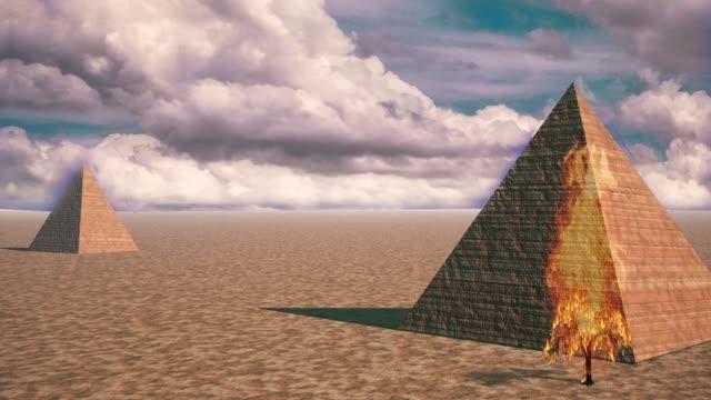 ピラミッド - シュール点の映像素材/bロール