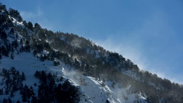 pyrenees mountains - lleida stok videoları ve detay görüntü çekimi